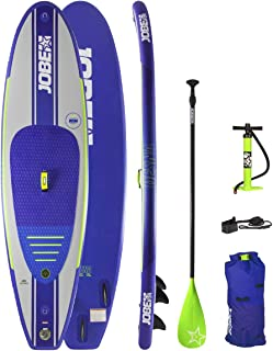Jobe Desna Inflatable Stand Up Paddle Board SUP 10'0 x 32 INC Paddle, Backpack, Pump & Leash/Strap - Waterproof Sprayproof