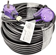 Parkworld 886184 RV 30A Extension Cord NEMA TT-30 with Lighted and Handle (75FT)