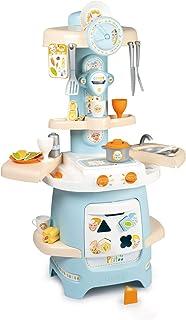 Smoby - Ptitoo - Cuisine Cooky - 25 Accessoires - Jouet d'Imitation pour Enfant - Dès 18 Mois - Formes Encastrables - 310717