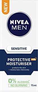 NIVEA MEN Sensitive Protective Moisturiser SPF15, 75ml