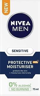 NIVEA MEN Sensitive Protective Moisturiser SPF15, 75ml