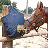 Reitsport Amesbichler HorseGuard - Borsa per il fieno, con apertura per il cibo e anelli per appendere