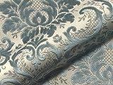 Möbelstoff TOSCA 900 Muster Ornamente grau als robuster