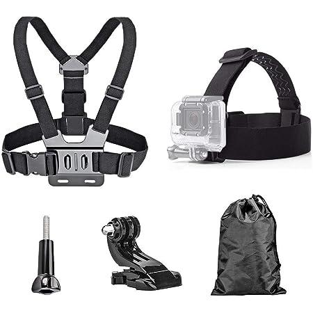 Adjustable Head Helmet Strap Belt Mount Harness For Go Pro Camera iPhone CT