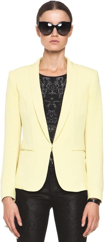Rag & Bone Sliver Tuxedo Jacket in Yellow 2