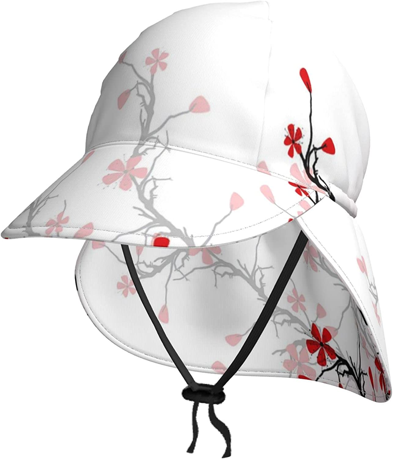 Toddler Sun Hat Jacksonville Mall for Kids Baby Uv Cap Flamingos Very popular Protection wi
