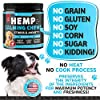 Hemp Calming Treats for Dogs - Made in Usa - 180 Soft Dog Calming Treats - Aids Stress, Anxiety, Storms, Barking, Separation and More - Valerian Root, L-Tryptophan, Chamomile - Hemp Oil for Dogs #3