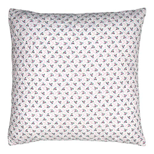 GreenGate Cushion Rita Pale pink 50x50cm