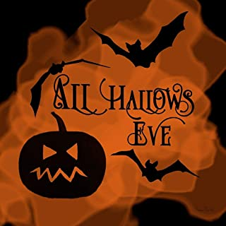 Posterazzi Collection All All Hallows Eve Pumpkin Poster Print by Ramona Murdock (24 x 24)