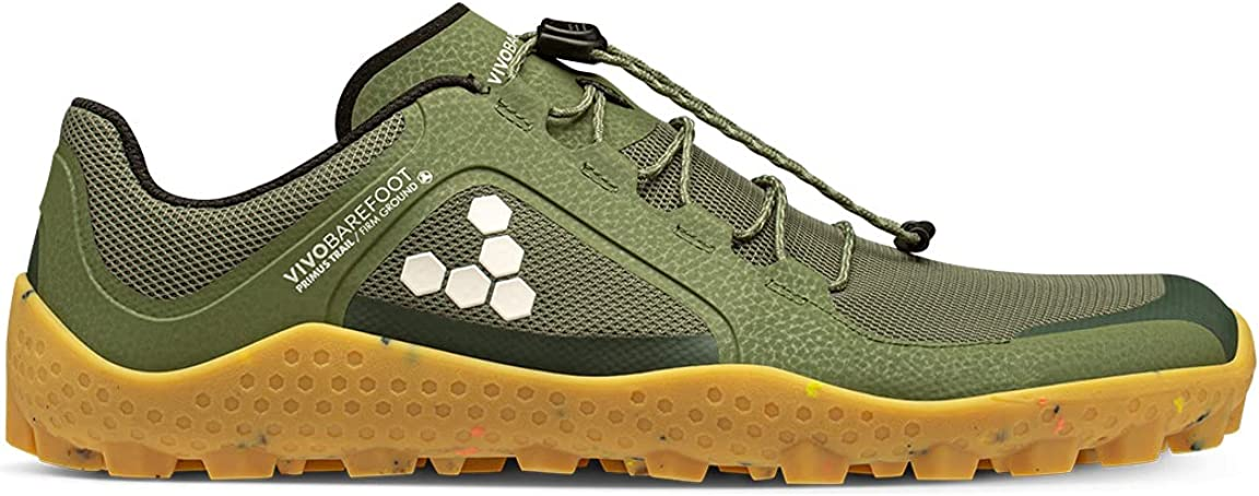 Vivobarefoot Mens Primus Trail II Trainers Textile NEW SG Directly managed store Synthetic
