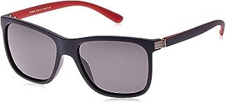 TFL Men's Wayfarer Sunglasses, 56 x 17 x 139 mm, Blue/Red