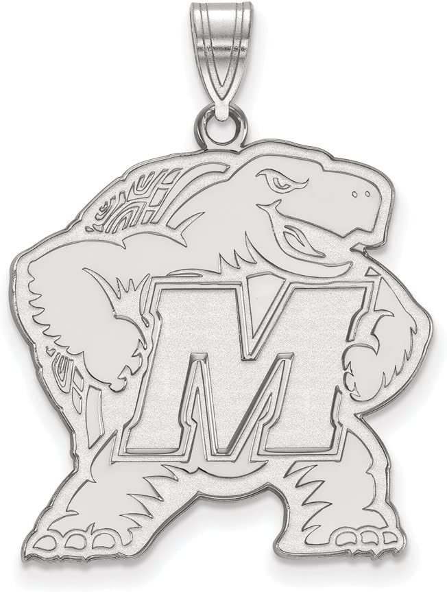 OFFicial site Maryland Extra Large Max 73% OFF 1 Pendant Sterling Silver Inch