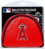 Team Golf MLB Los Angeles Angels Golf Club Mallet Putter Headcover, Fits Most Mallet Putters, Scotty Cameron, Daddy Long Legs, Taylormade, Odyssey, Titleist, Ping, Callaway