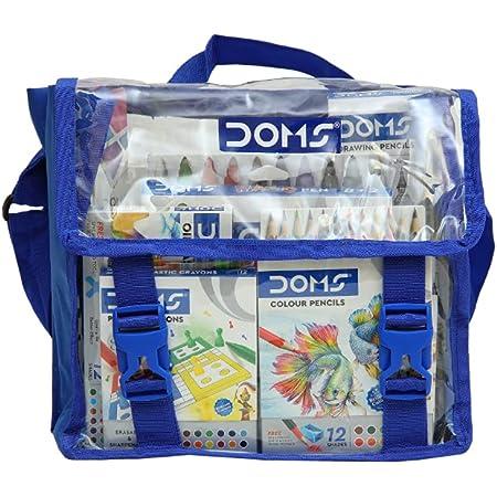 DOMS Gifting Range for Kids Junior Art Kit, Multicolour (DM7667)