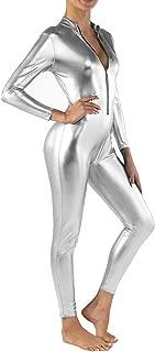 Best silver metallic jumpsuit Reviews