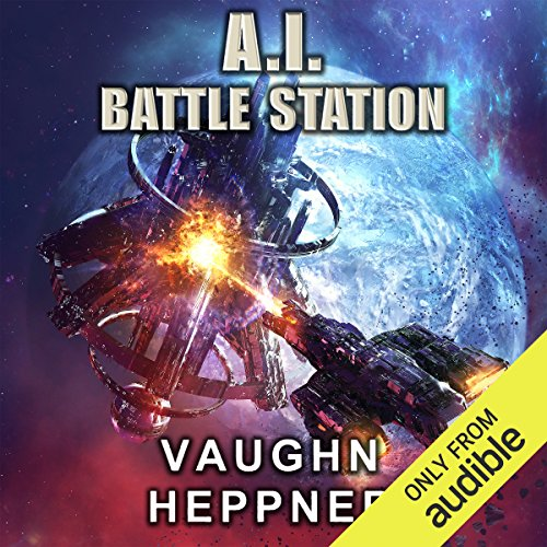 A. I. Battle Station audiobook cover art