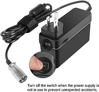 KFD 24V AC Adapter Charger for Schwinn S150 S180 S200 S250 S300 S350 S400 S500 S650 F-18 X-CEL, eZip 4.0 400 500 750 900 Trailz S-500CD, Go-Go Elite Traveller Ultra X SC40X SC44X Power Supply Cord