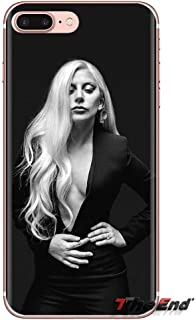 Inspired by Lady Gaga Phone Case Compatible With Iphone 7 XR 6s Plus 6 X 8 9 Cases XS Max Clear Iphones Cases TPU - Hbo- Nails- Glasses- Autograph- Autograph- 33057938235