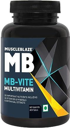 MuscleBlaze VITE Multivitamin - 60 Tablets