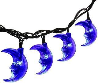 UCTEK Solar String Lights, 20ft 30LED Moon LED String Lights, Ramadan Moon Lights Waterproof Fairy Garden Decorative Outdo...