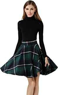 Best high waisted fit and flare skirt Reviews