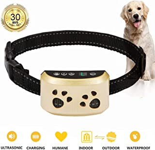 Bark Collar Adjustable Dog Bark Collar Anti-Barking Collar for Small Medium and Large Dogs