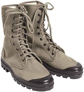 Franz.Com.Chaussures en toile 9 trous Olive