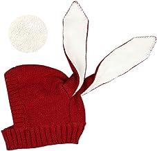 Baby Boys Girls Fleece Lining Cute Rabbit Bunny Ear Cap Earflap Hat Newborn Infant Kids Knitted Autumn Winter Warm Hat