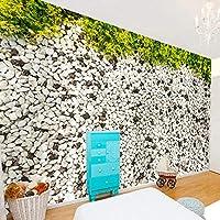 3D写真の壁紙リビングルームの寝室の石畳の壁画の壁紙防水キャンバス壁画の壁紙-400x280cm
