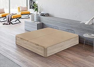 Santino Canapé Wooden Gran Capacidad Cambrian 135x190 cm con Montaje a Domicilio Gratis