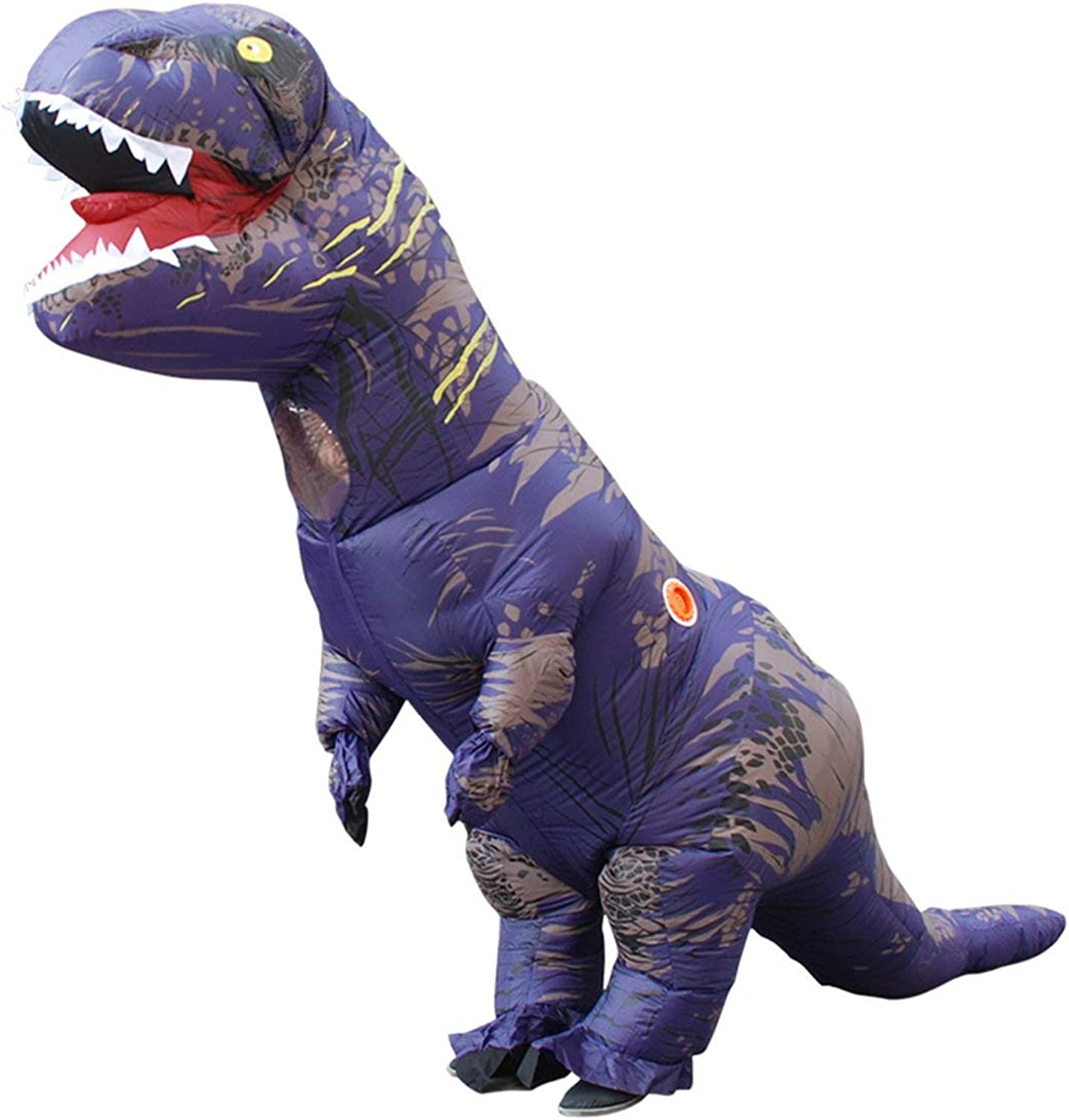 WEIWEITOEUK creative Inflatable Animal Dinosaur Party Cosplay Blowup Costume For Adult