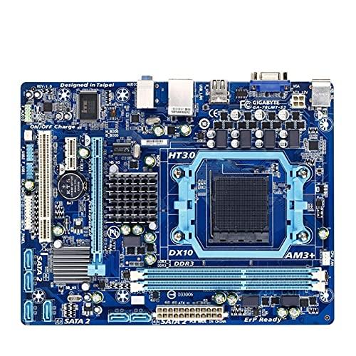 MPGIO la Placa Base de Escritorio FIT FOR Gigabyte GA-78LMT-S2 GA 78LMT-S2 760G Socket AM3 AM3 + DDR3 Micro-ATX Placa Base de Escritorio