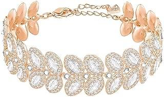 Crystal Baron Rose Gold-Tone Bracelet