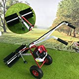 Best Lawn Sweepers - CNCEST 43CC 1.7hp Petrol Walk Sweeper Brush Gas Review