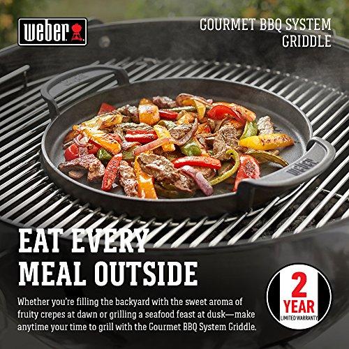 61g6v2giWCL - Weber 7421 Gourmet BBQ System - Pfannen Einsatz,30.5 cm
