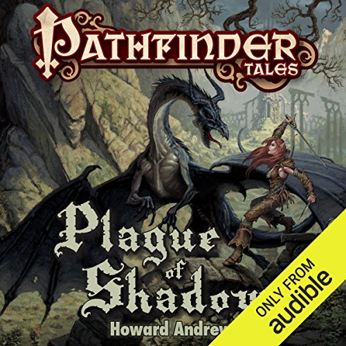 Plague of Shadows audiobook cover art