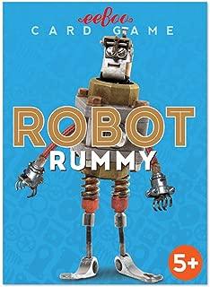 eeBoo Robot Rummy Card Game for Kids