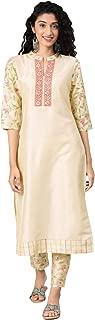 ZIYAA Women's art silk straight Salwar Suit Set