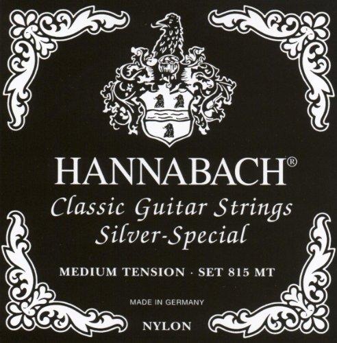 Hannabach Cuerdas para Guitarra Clásica Serie 815, Tensión...