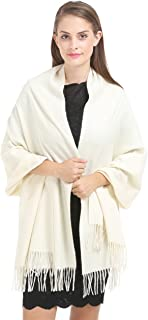Cashmere Wrap Shawl Stole for Women Winter Extra Large(79