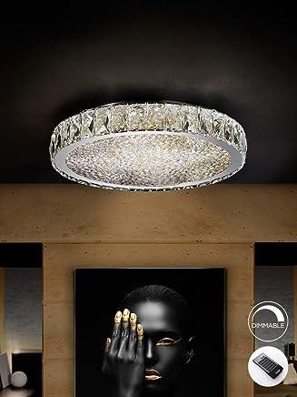 Schuller Interior Plafon esCristal Iluminación Amazon De uc31KJ5FTl