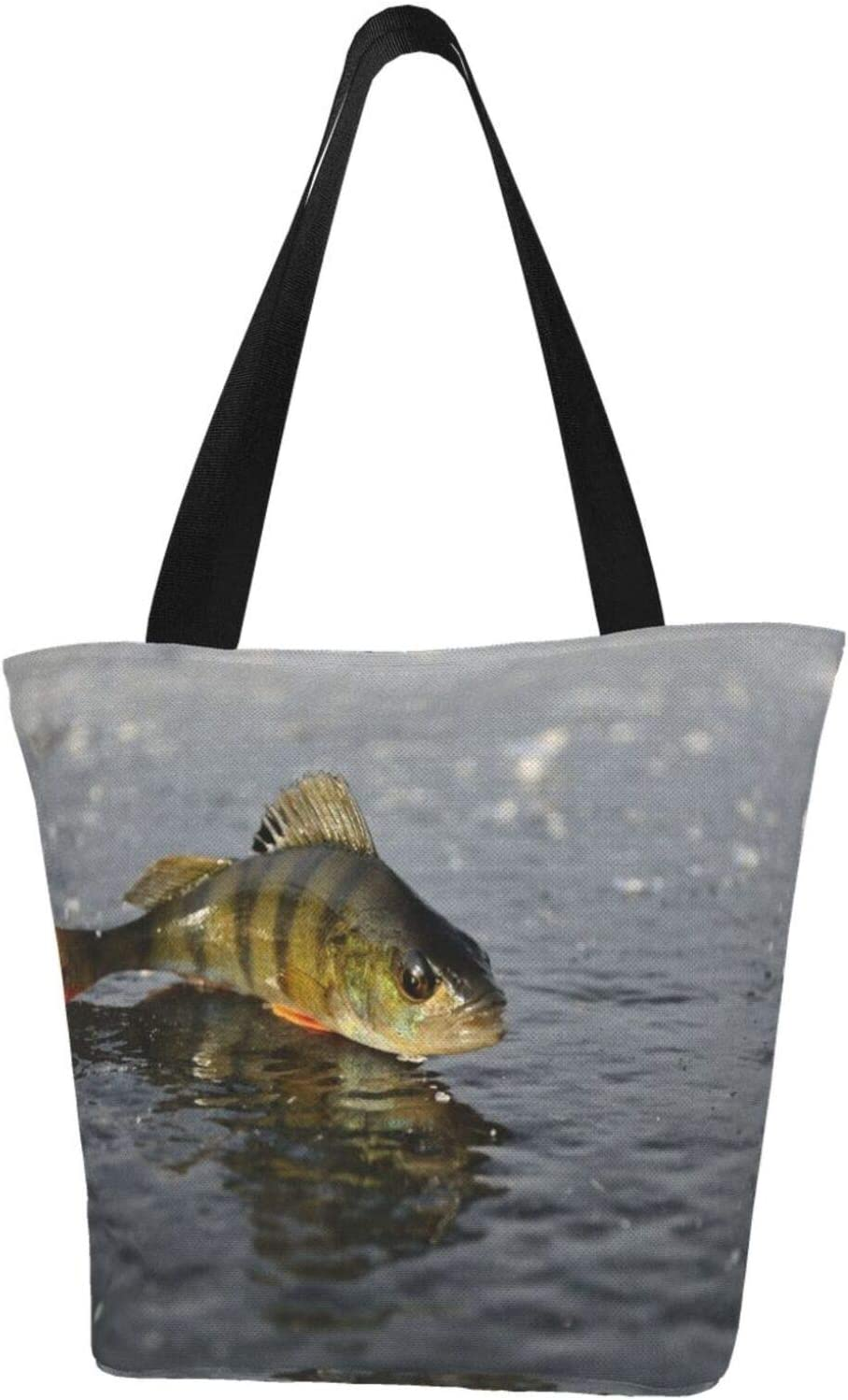 Perch Ice Fishing Winter Animal Canv Price reduction Resistant Extra Water Surprise price Large