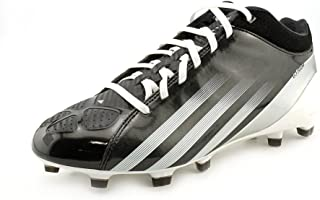 adidas Adizero 5 Star Black/Running White Men's Football MID Cleats Boots