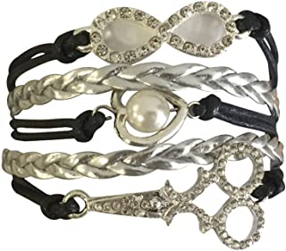 Infinity Collection Hair Stylist Jewelry- Hair Stylist Bracelet- Perfect Hair Stylist Gifts