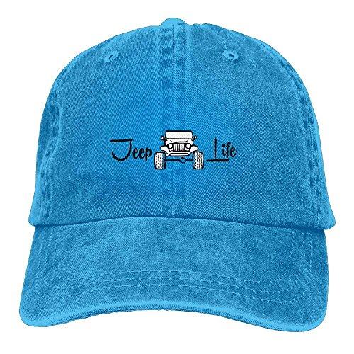 Jeep Life Cool Gorra de béisbol Ajustable Unisex Sombrero de papá Unisex15