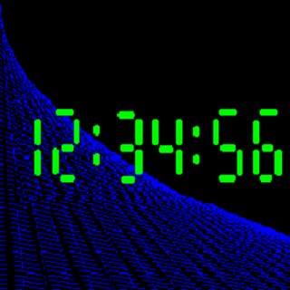 Text Digital Clock