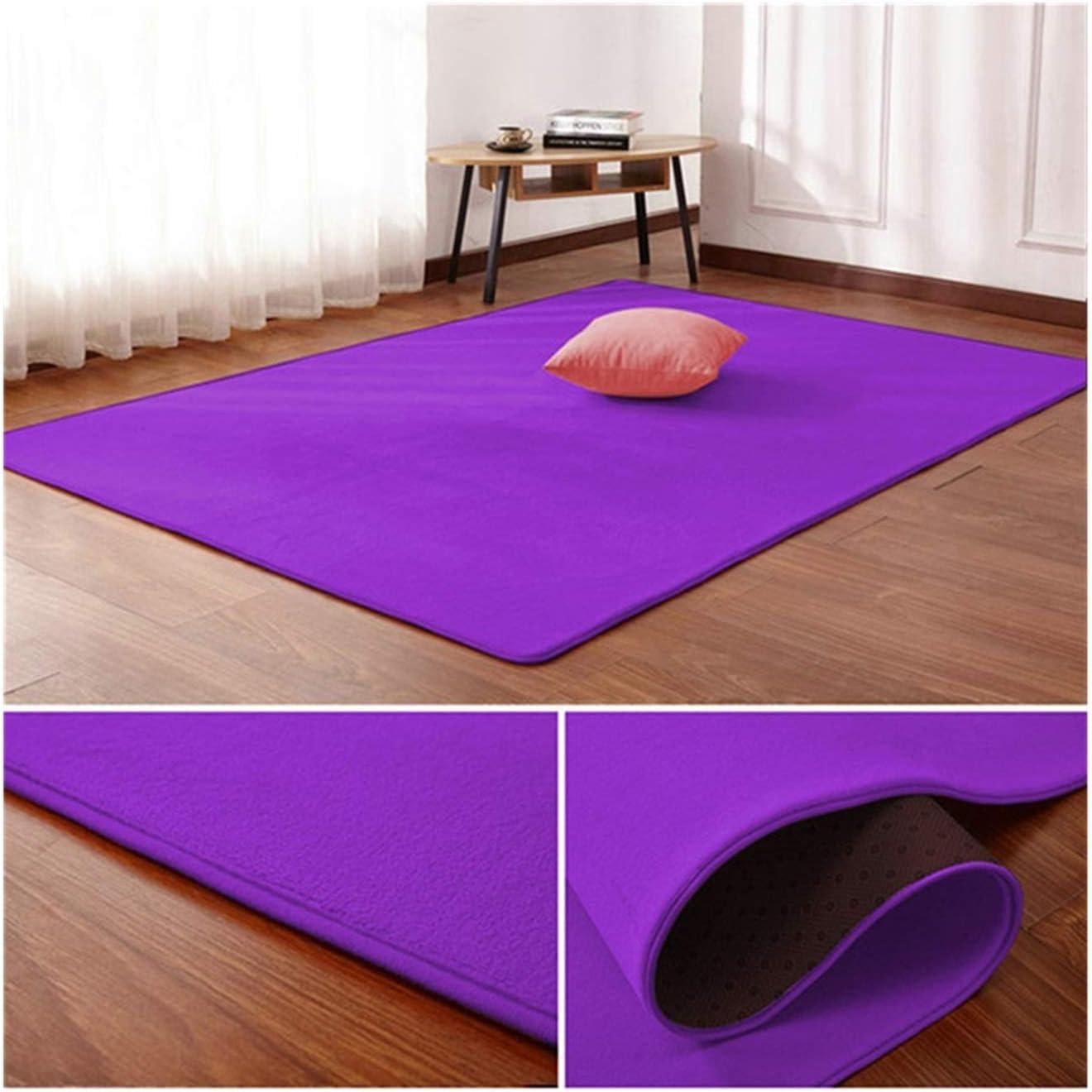 WAZG SYBLD Nordic Product trust Coral Velvet Carpet Living Bedr Floor Mat Room