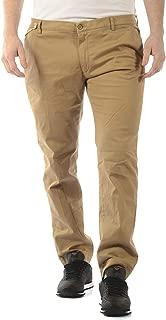 Daniele Alessandrini - Men'S Pants P33223702 Beige Smoked Pants TB