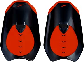 Speedo Unisex Adult Fastskin Hand Paddle - Black/Siren Red, One Size