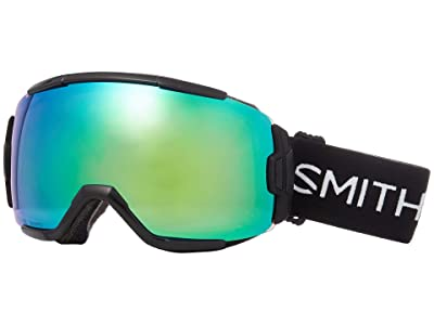 Smith Optics Vice Goggle (Black/Chromapop Everyday Green Mirror) Goggles